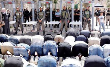 أحداث البوابات الالكترونية في المسجد الأقصى